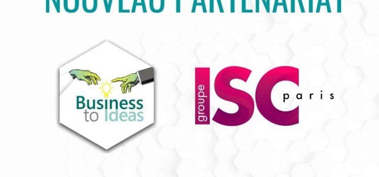 Partenariat avec l'ISC Paris